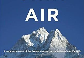 Book: Into Thin Air by JonKrakauer