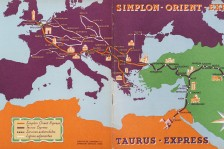 Orient express map