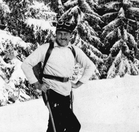 Article:  Hemingway, the Alps &wintersports