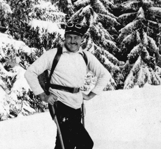 Article:  Hemingway, the Alps & wintersports