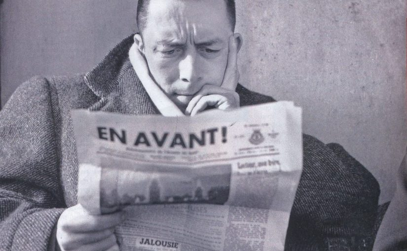 Article & Book: Albert Camus on awareness, happiness, travel & Algeria